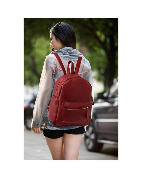 AG00186C burgundy-backpack shoulder bag_6_-1