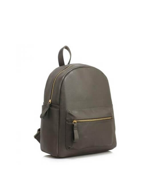 Grey Fashion Backpack