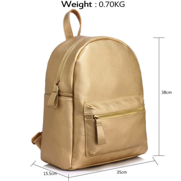 Ladies Backpack Gold