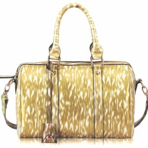 LS7008 Medium Barrel Handbag Beige