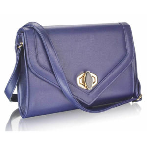Twist Lock Clutch Purse NavyTwist Lock Clutch Purse Navy