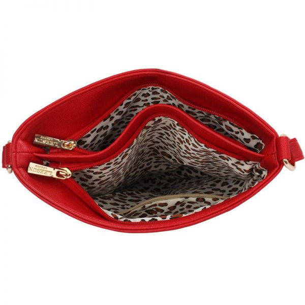 Red Crossbody Bag With Adjustable Strap – LS00433_(2)