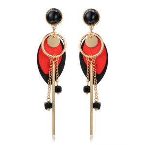 wood drop latest earrings designs online