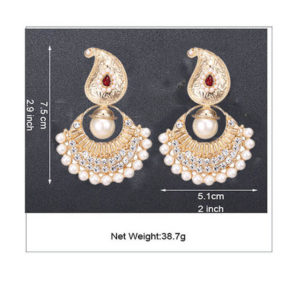 indian earring for wedding gold