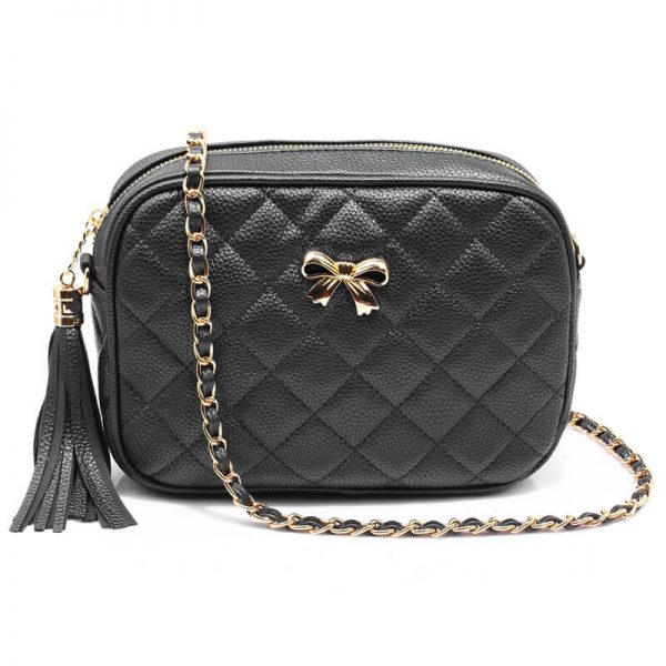 AG00540 – Black Cross Body Shoulder Bag