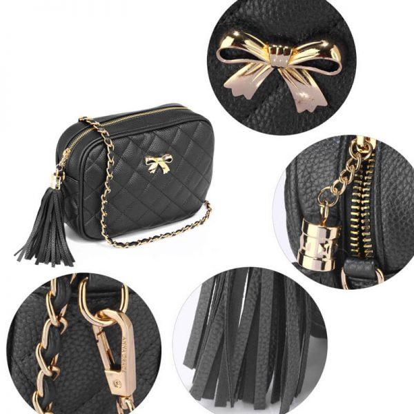 AG00540 – Black Cross Body Shoulder Bag_4_
