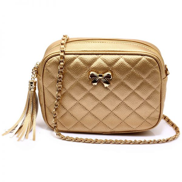 AG00540 – Gold Cross Body Shoulder Bag_1_