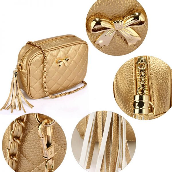 AG00540 – Gold Cross Body Shoulder Bag_4_