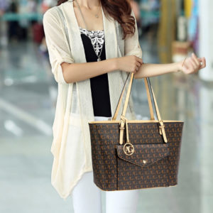 black front pocket large tote bags shopping online