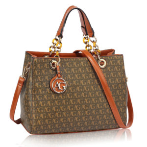brown designer tote bag in pakistan
