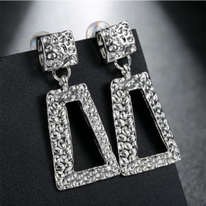 silver dangle earrings online shopping