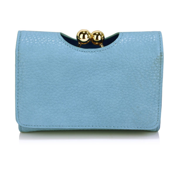 LSP1065A Blue Kisslock Clutch Wallet-__1_
