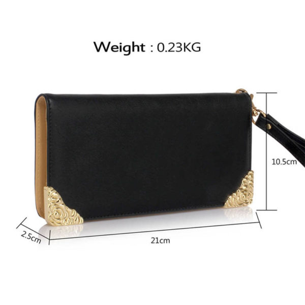 metal decoration women wallets online in pakistan