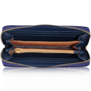 navy crocodile pattern purse - online wallets shopping in pakistan