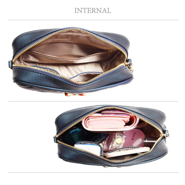 navy ladies cross body bag