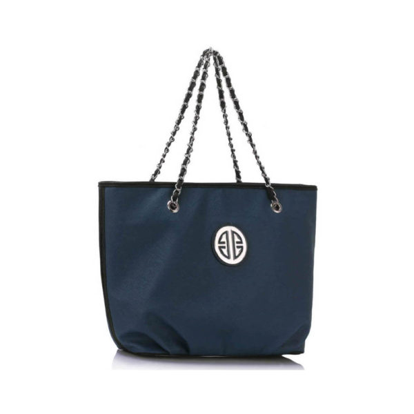 chain strap navy leather shoulder bags online shopping