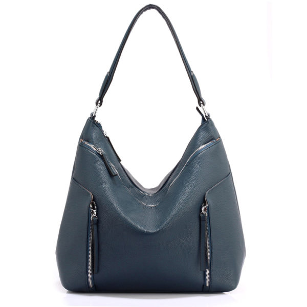 navy hobo shoulder bags for women