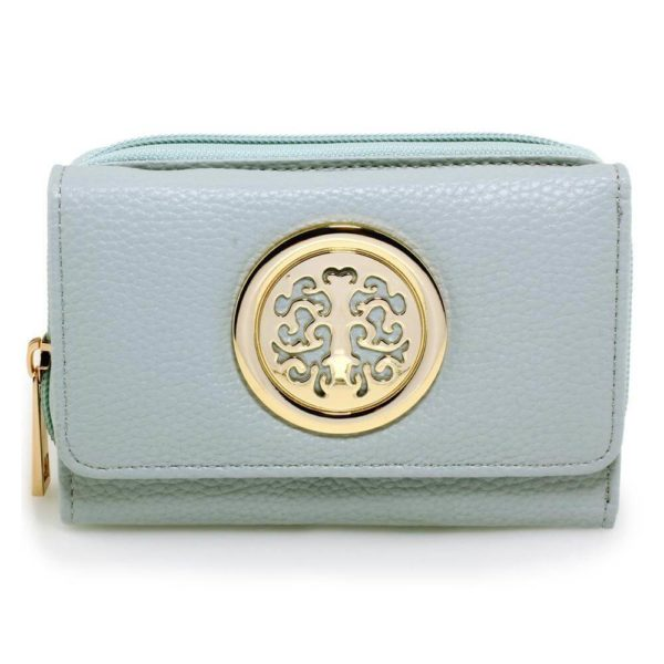 agp1052a – blue purse wallet with metal decoration_1_