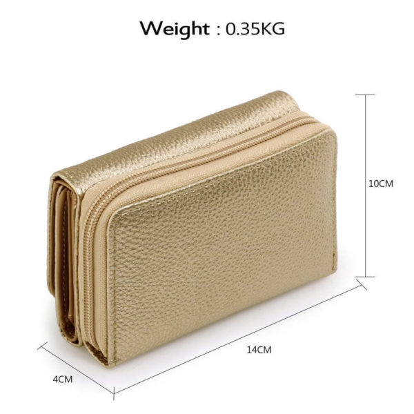 agp1052a – gold purse wallet with metal decoration_2_