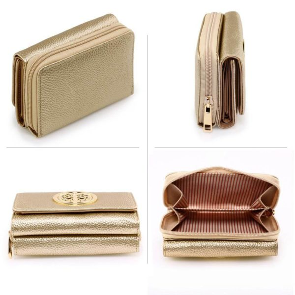 agp1052a – gold purse wallet with metal decoration_3_