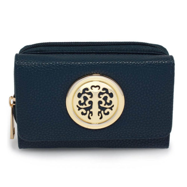 agp1052a – navy purse wallet with metal decoration_1_