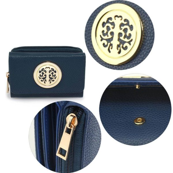 agp1052a – navy purse wallet with metal decoration_5_