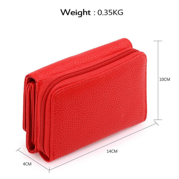 agp1052a – red purse wallet with metal decoration_2_