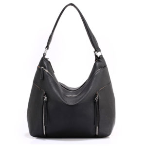 black hobo shoulder bags for women