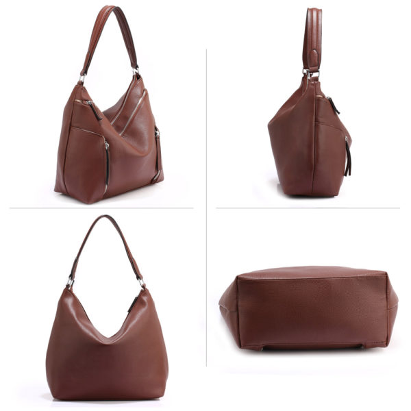 coffee hobo shoulder bags for women