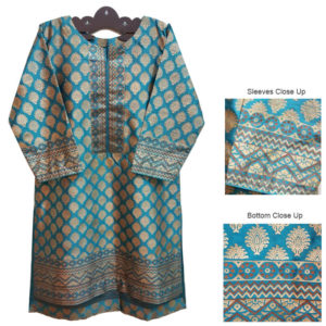 Ladies Kurti sky blue BJK08
