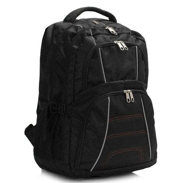 ls00444 – backpack rucksack school bag black