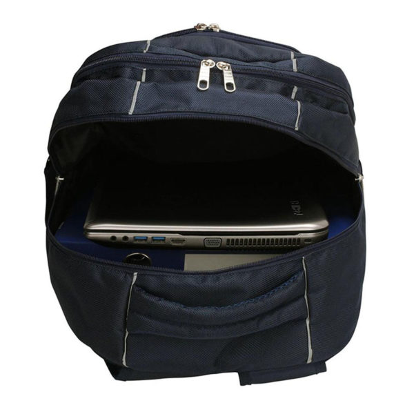 ls00444 – backpack rucksack school bag navy2
