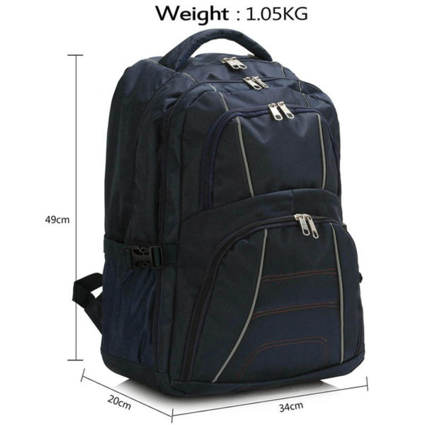 ls00444 – backpack rucksack school bag navy3