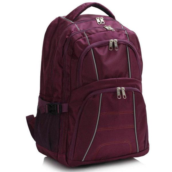ls00444 – backpack rucksack school bag purple