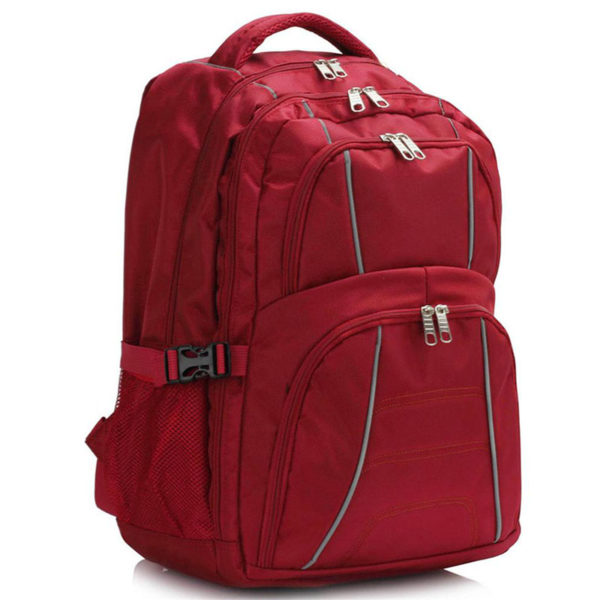ls00444 – backpack rucksack school bag red