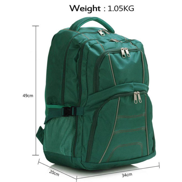 ls00444 – backpack rucksack school bag teal 2
