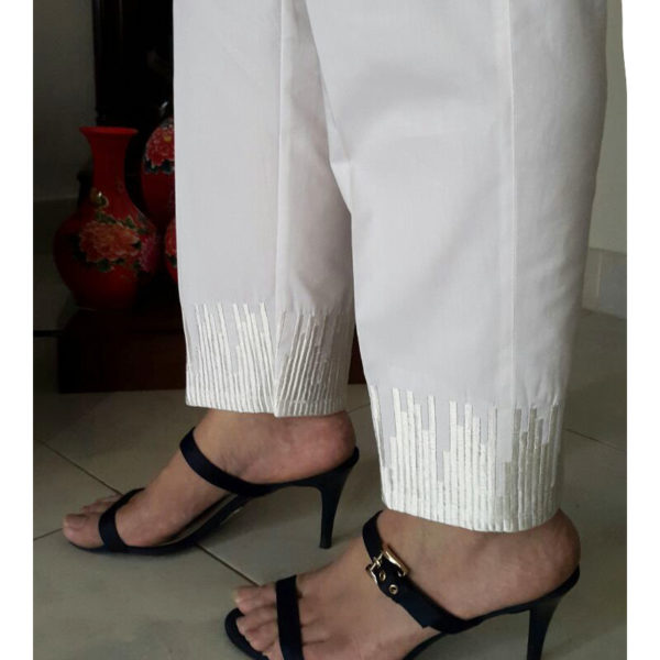 KT10 white Trouser With Embroideryweb1