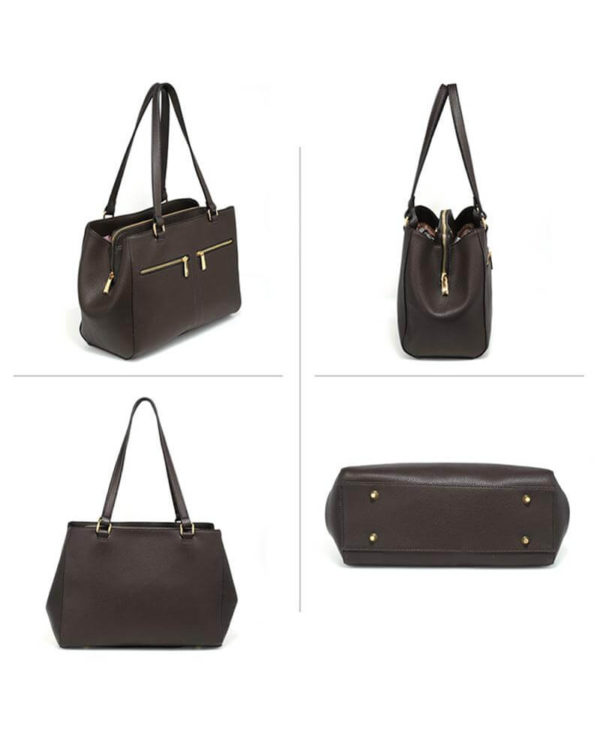 ag00526 front pockets tote bag coffee_3_