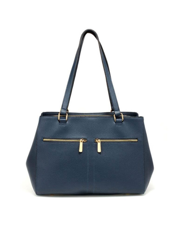 ag00526 front pockets tote bag navy _1_