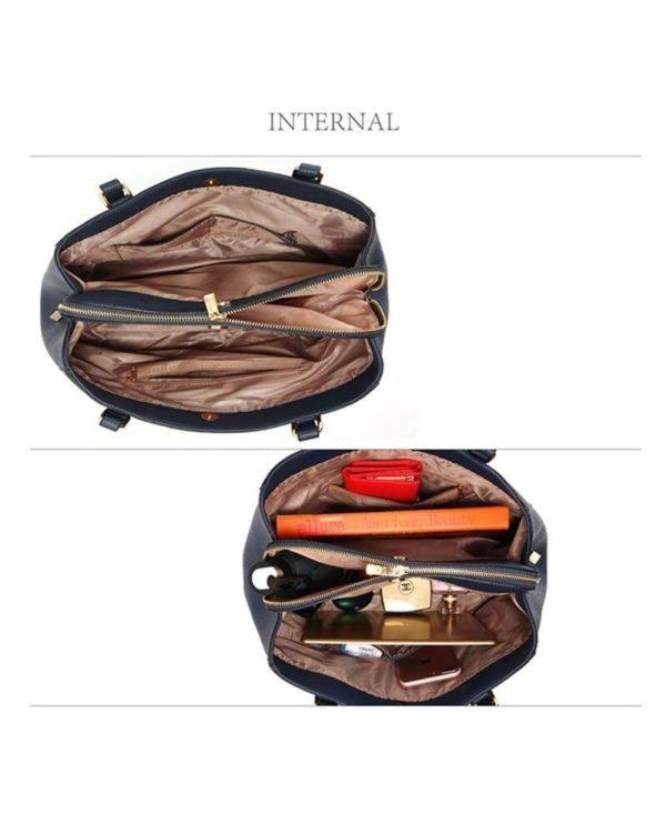 ag00526 front pockets tote bag navy _1_4