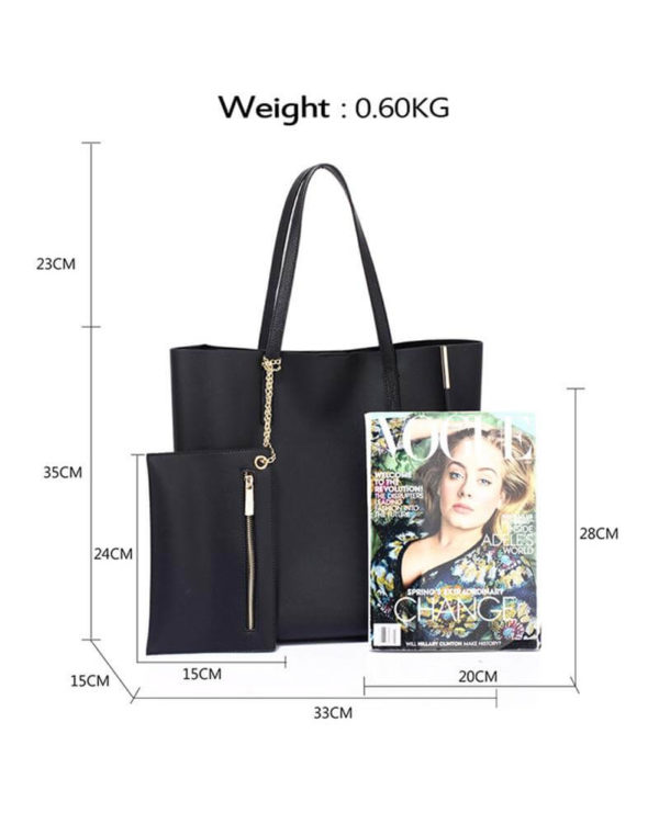 ag00549 – black tote bag with removable pouch_2_