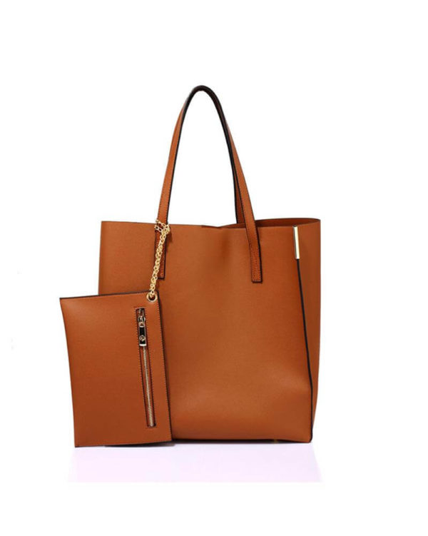 ag00549 – brown tote bag with removable pouch_1_