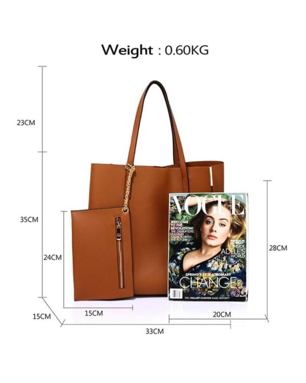 ag00549 – brown tote bag with removable pouch_2_