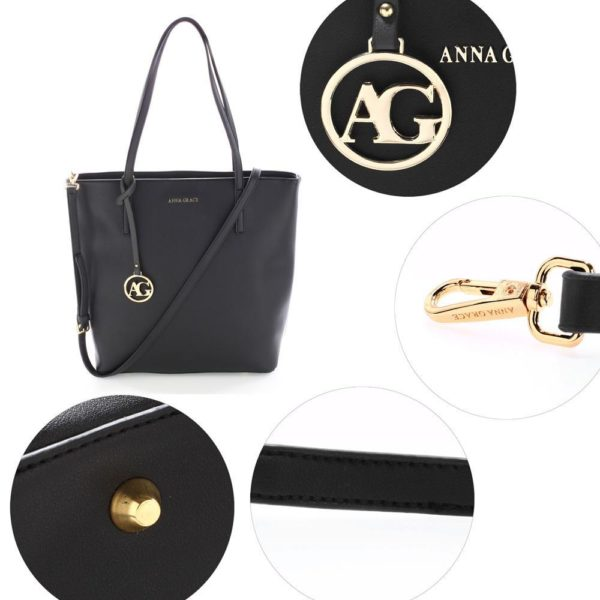 ag00564 black – anna grace large tote shoulder bag_5_
