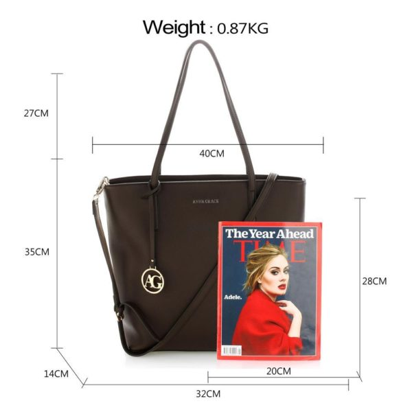 ag00564 coffee – anna grace large tote shoulder bag_2_