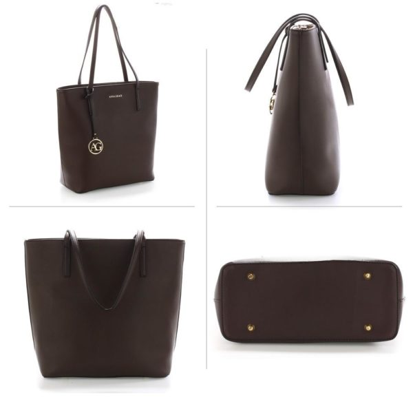 ag00564 coffee – anna grace large tote shoulder bag_3_