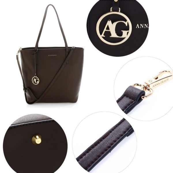 ag00564 coffee – anna grace large tote shoulder bag_5_