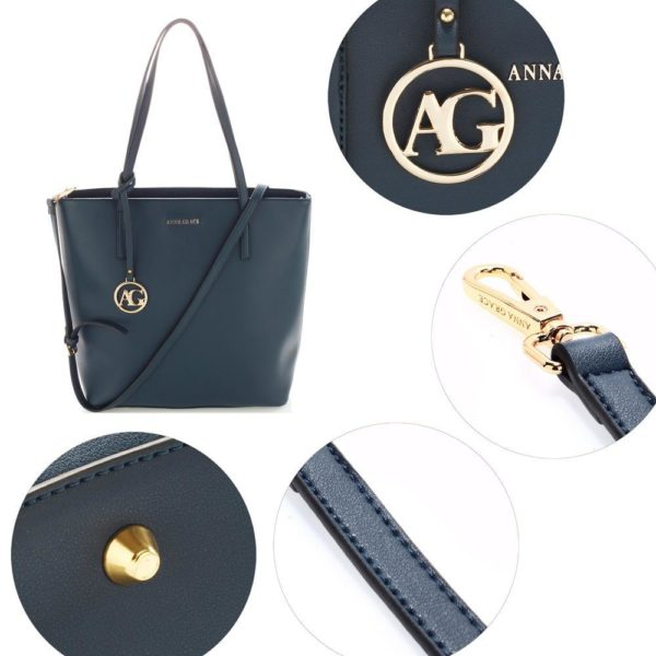 ag00564 navy – anna grace large tote shoulder bag5_
