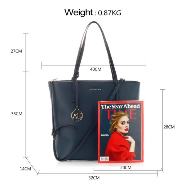 ag00564 navy – anna grace large tote shoulder bag_2_