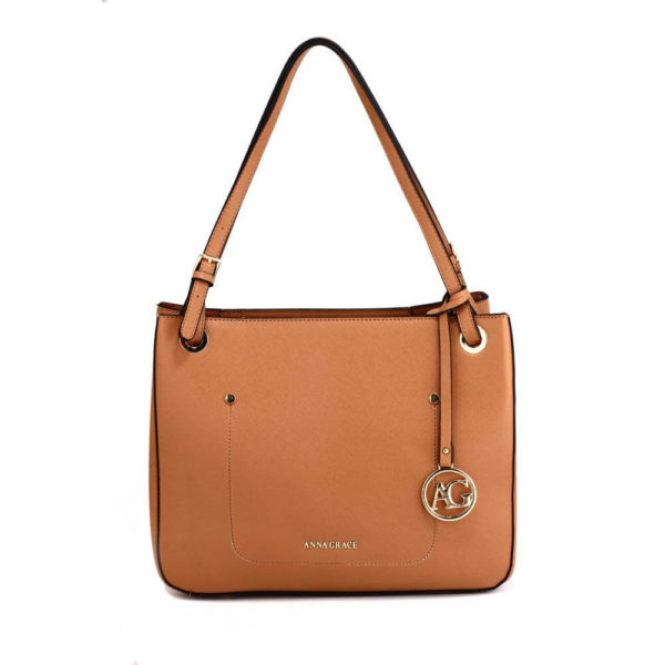 ag00570 – brown anna grace fashion tote handbag__1_